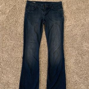 Citizens of Humanity Low-rise, boot cut Jeans